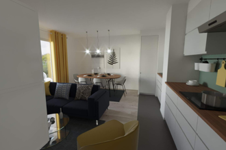 Two-bedroom apartment in  Châtillon, France