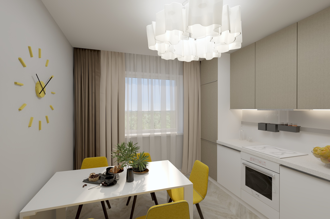1 bedroom apartment 70,65 m²