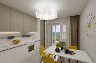1 bedroom apartment 63,6 m²