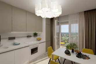 1 bedroom apartment 65,3 m²