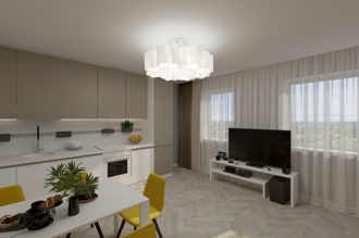 1 bedroom apartment 69,9 m²