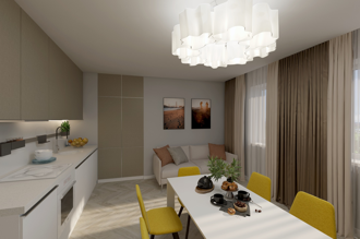 1 bedroom apartment 67,7 m²