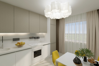 1 bedroom apartment 70,45 m²