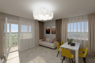 1 bedroom apartment 69,45 m²