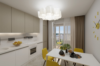1 bedroom apartment 62,7 m²